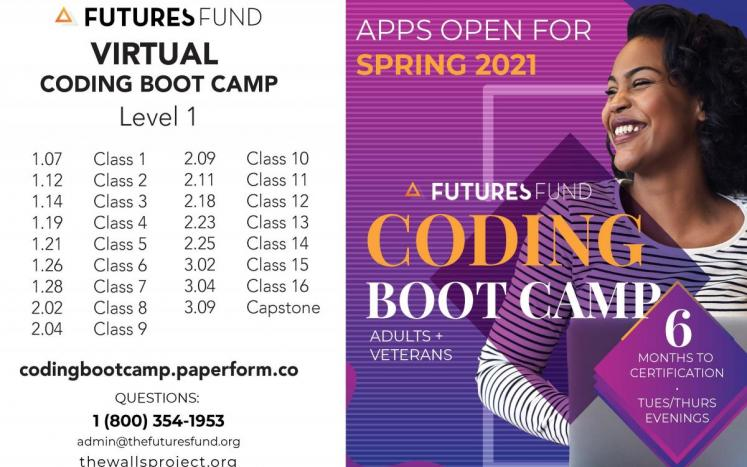 Adult Coding Bootcamp Ad