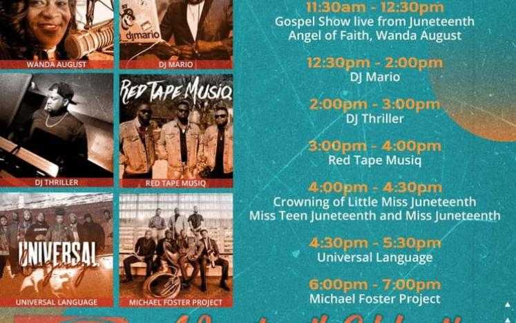 Festival with Juneteenth Music Festival June 5 | 11am-7pm